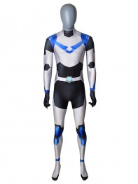 Shiro Voltron Cosplay Costume Paladin Armor Spandex Suit