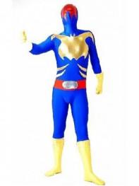 Spandex & Metallic Fullbody Superhero Costume