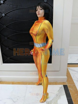 Alex Totally Spies! DyeSub Printing Cosplay Costume