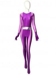 Totally Spies Mandy Purple Spandex Superhero Costume