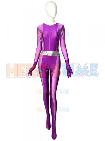Totally Spies Mandy Purple Spandex Superhero Costume