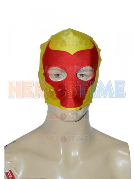 yellow red bull pattern custom superhero mask. Black Bedroom Furniture Sets. Home Design Ideas