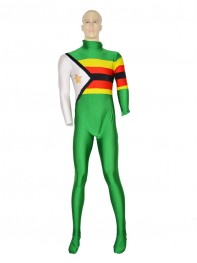 Zimbabwe Flag Pattern Custom Costume