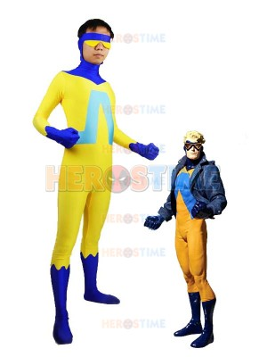 DC Comics Animal Man Spandex Superhero Costume