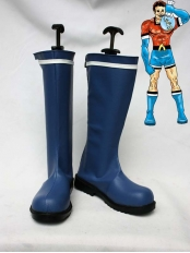 DC Comics Aqualad Blue Superhero Boots