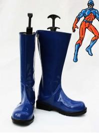 DC Comics Atom Blue Superhero Boots
