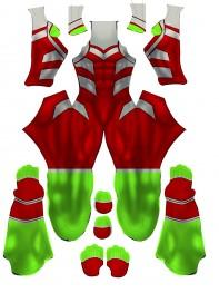 Beast Boy Teen Titans DC Comics Printing Cosplay Costume