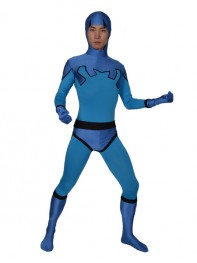 Blue Beetle Ted Kord Version Spandex Superhero Costume