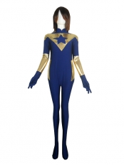 Booster Gold Film Version Spandex Superhero Costume