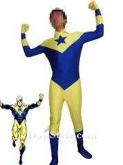 DC Comics Booster Gold Spandex Superhero Costume