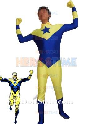 DC Comics Booster Gold Spandex Superhero Costume