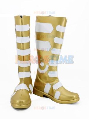 Captain-Marvel Shazam DC Comics Superhero Cosplay Boots