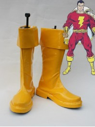 DC Comics Captain Marvel Cosplay Boots