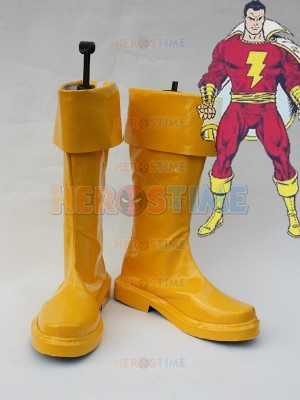 DC Comics Captain-Marvel Cosplay Boots