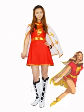 The Marvel Family Mary Marvel Superhero Costume