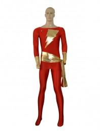Captain Marvel Comics Superhero Costume