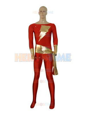Captain Marvel Comics Superhero Costume