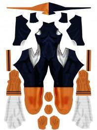 Rose Wilson Daugther of Deathstroke Cosplay Costume