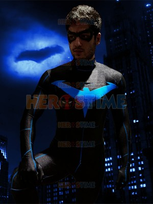 2019 Nightwing Cosplay Costume Printing Suit Halloween