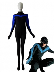 Nightwing Spandex Superhero Costume