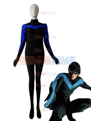 Nightwing Spandex Superhero Costume