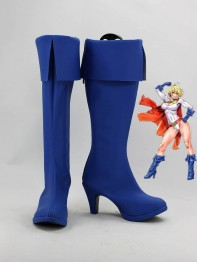 Power Girl DC Comics Superhero Boots