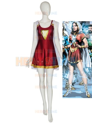 Mary-Marvel Suit Shazam Family 3D Printing Cosplay Costume