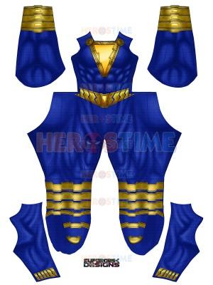 Shazam!Purple Shazam/ Darla Dudley Male Shade Costume