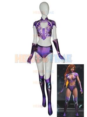 Starfire Teen Titans Superhero Costume Kids Adult Halloween Costume