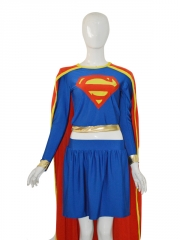 2015 Fashion Supergirl Spandex Superhero Costume