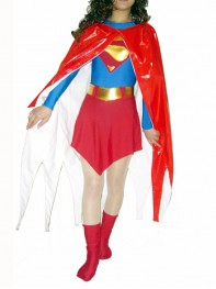 DC Comics Supergirl Shiny Metallic Superhero Costume