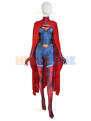 Supergirl Costume Man Of Steel Super Girl Cosplay Suit