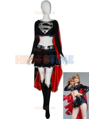 Dark Supergirl Suit DC Comics Supervillain Costume