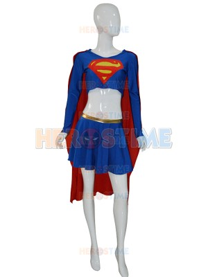 Deluxe Supergirl Adult Superhero Costume