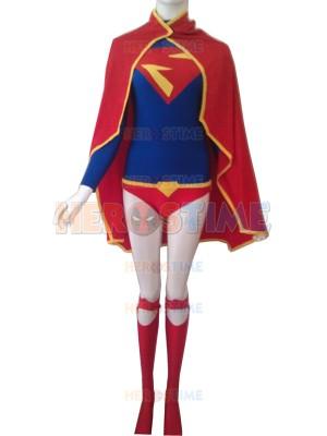 Leotard Design Supergirl Spandex Superhero Costume