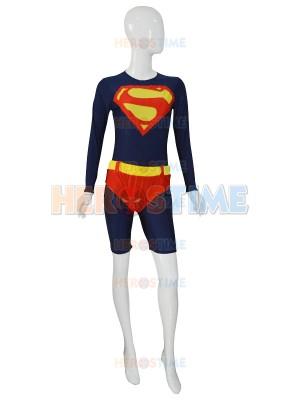 Newest Custom Navy Blue Supergirl Leotard