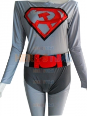 DC Comics Red Son Superman Spandex Superhero Costume