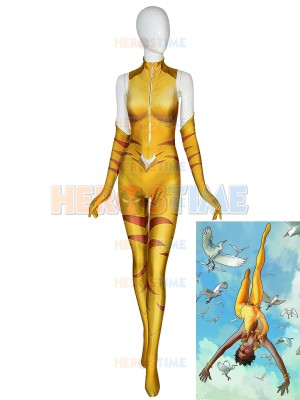 DC Comics Vixen Suit Superhero Cosplay Costume