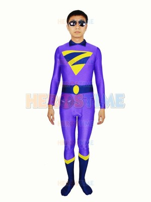 DC Comics The Wonder Twins Zan Spandex Superhero Costume