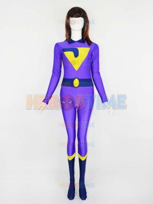DC Comics The Wonder Twins Jayna Spandex Superhero Costume