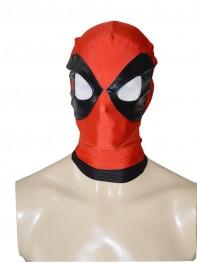 2014 Black & Red Deadpool Spandex Hood