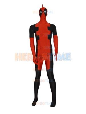 2015 New Custom Deadpool Superhero Costume