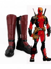 2017 New Deadpool Wade Wilson Custom Superhero Boots