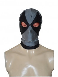 Black & Grey Deadpool Superhero Hood