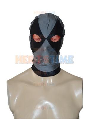 Black & Grey Deadpool Superhero Hood