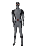 Black & Grey New Custom Deadpool Superhero Costume