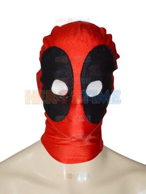 Classic Round Eyes Deadpool Spandex Superhero Hood