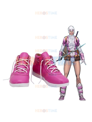 Gwenpool Shoes Spider Gwen And Deadpool Amalgam Cosplay Boots