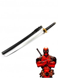 Deadpool Cosplay Accessories Wood Sword