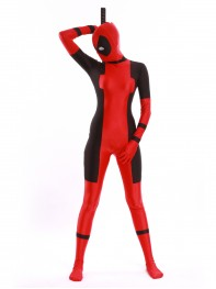 Lady Deadpool Costume Girls Superhero Costume